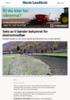 Seks av ti bønder bekymret for ekstremnedbør