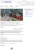 Selvkjørende tog i vente på Moskvas ringjernbane