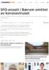 SFO-ansatt i Bærum smittet av koronaviruset
