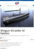 Shogun 43 seiler til høsten