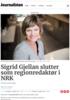 Sigrid Gjellan slutter som regionredaktør i NRK