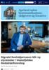Sigvald Sveinbjørnsson blir ny styreleder i Vestafjelske Redaktørforening