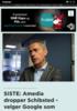 SISTE: Amedia dropper Schibsted - velger Google som ny annonsepartner