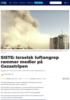 SISTE: Israelsk luftangrep rammer medier på Gazastripen