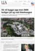 Sit vil bygge opp mot 4000 boliger på og ved Gløshaugen