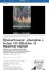 Sjokkert over at Jotun akter å betale 100 000 dollar til Myanmar-regimet