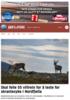 Skal felle 55 villrein for å teste for skrantesyke i Nordfjella