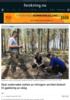 Skal undersøke nytten av nitrogen-anriket biokull til gjødsling av skog