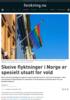 Skeive flyktninger i Norge er spesielt utsatt for vold
