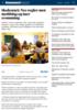 Skolestart: Nye regler mot mobbing og mer svømming
