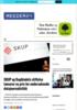 SKUP og Dagbladets stiftelse lanserer ny pris for undersøkende datajournalistikk