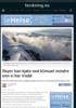 Skyer kan kjøle ned klimaet mindre enn vi har trodd
