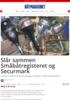 Slår sammen Småbåtregisteret og Securmark