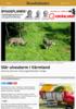 Slår ulvealarm i Värmland