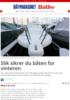 Slik sikrer du båten for vinteren