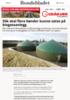Slik skal flere bønder kunne satse på biogassanlegg