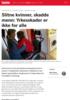 Slitne kvinner, skadde menn: Yrkesskader er ikke for alle