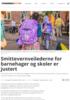 Smittevernveilederne for barnehager og skoler er justert