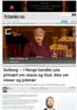 Solberg: - I Norge handler jula primært om Jesus og Gud, ikke om nisser og juletrær