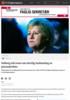 Solberg må svare om ulovlig innhenting av passasjerdata