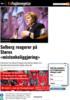 Solberg reagerer på Støres mistenkeliggjøring