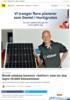 Solenergi Norsk selskap lanserer batteri som lar deg lagre 10.000 kilowattimer