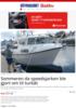 Sommeren da speedsjarken ble gjort om til turbåt