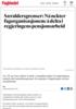 Særaldersgrenser: Nå nekter fagorganisasjonene å delta i regjeringens pensjonsarbeid
