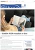 - Stabile PISA-resultat er bra