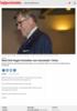 Stein Erik Hagen fortsetter som styreleder i Orkla