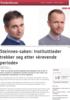Steinnes-saken: Instituttleder trekker seg etter «krevende periode»