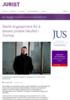 Sterkt engasjement for å bevare juridisk fakultet i Tromsø