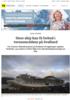 Store skip kan få forbud i verneområdene på Svalbard