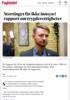 Stortinget får ikke innsyn i rapport om trygderettigheter