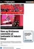 Støre og Kristiansen samstemte på landsmøtet til Industri Energi