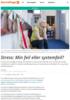 Stress: Min feil eller systemfeil?