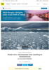 Studie viser «skremmende rask» smelting av Grønlandsisen