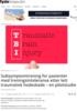Subsymptomtrening for pasienter med treningsintoleranse etter lett traumatisk hodeskade - en pilotstudie