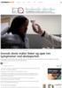 Svensk skole måler feber og spør om symptomer ved skoleporten