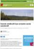 Svensk vindkraft kan erstatte norsk vannkraft