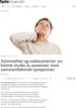 Svimmelhet og nakkesmerter: en klinisk studie av pasienter med sammenfallende symptomer