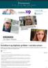 Svindlere og digitale gribber i norske aviser