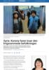 Syria: Korona-faren truer den krigsrammede befolkningen