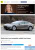Tesla-eier ble kjørt til sykehus av bilen: Tror Autopilot reddet livet hans
