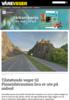 Tilstøtende veger til Finneidstraumen bru er ute på anbud