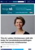 Tina B. Lykke Christensen (48) blir leder for produksjonsavdelingen ved Forsvarets mediesenter