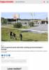 Tolv år gammel jente død etter skyting på bensinstasjon i Sverige