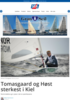Tomasgaard og Høst sterkest i Kiel
