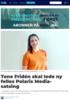 Tone Fridén skal lede ny felles Polaris Media-satsing