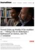 Trond Giske og Haddy N'jie snakker ut: - Viktig å ha en diskusjon i kjølvannet av metoo, sier TV 2-redaktør